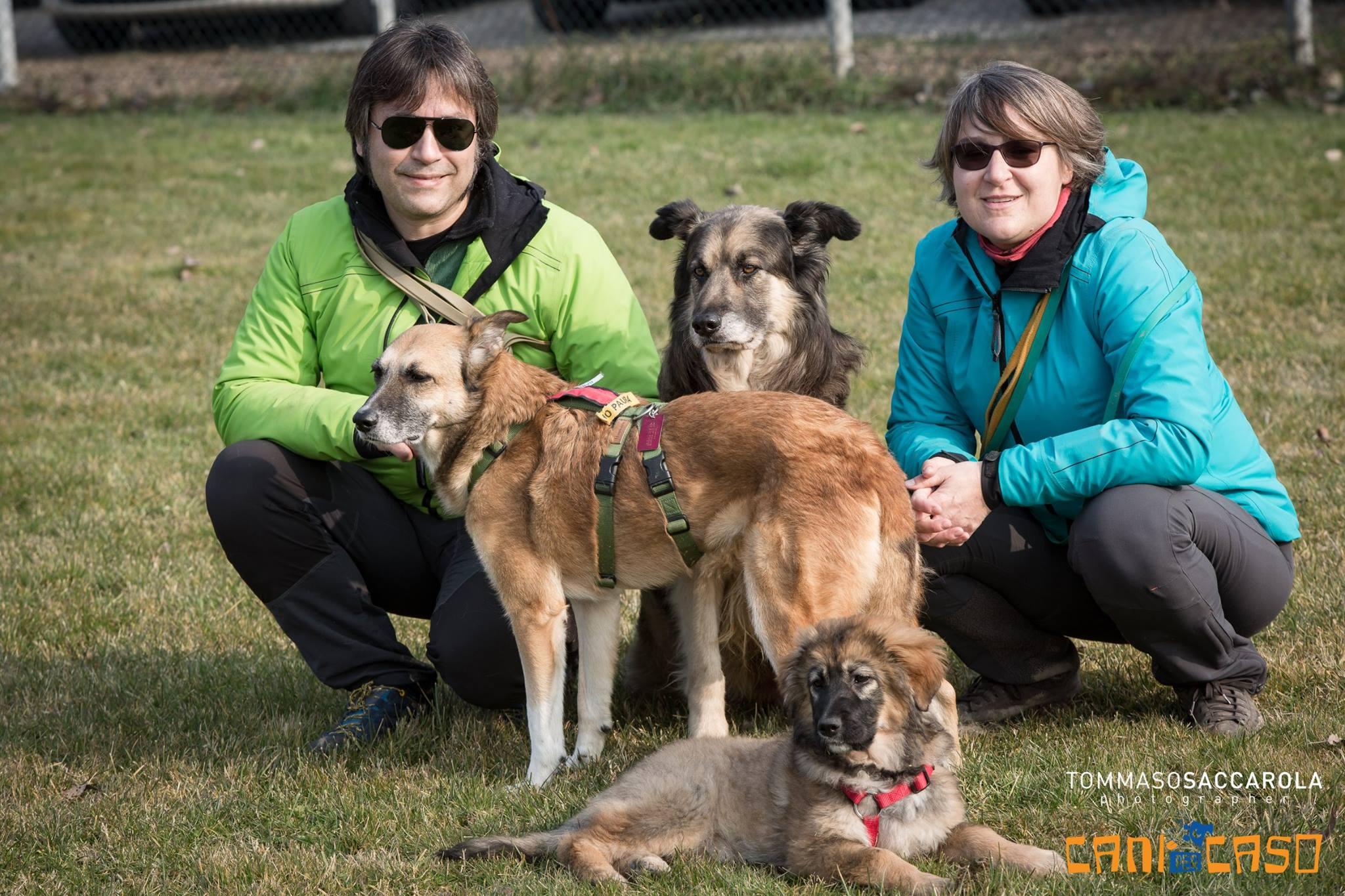 Foto di gruppo al campo