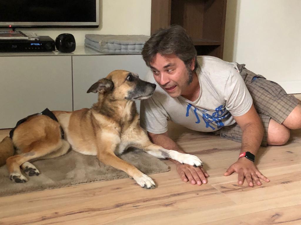 Stefano fa lo scemo con Bartina