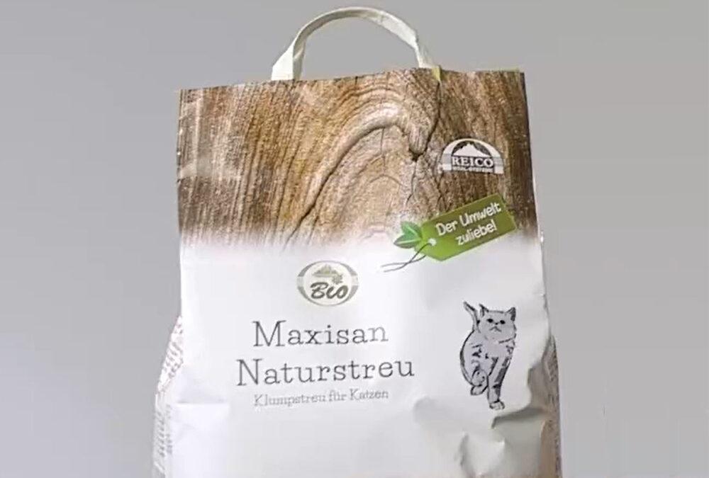 La soluzione ecologica per la lettiera è MaxiSan Naturstreu
