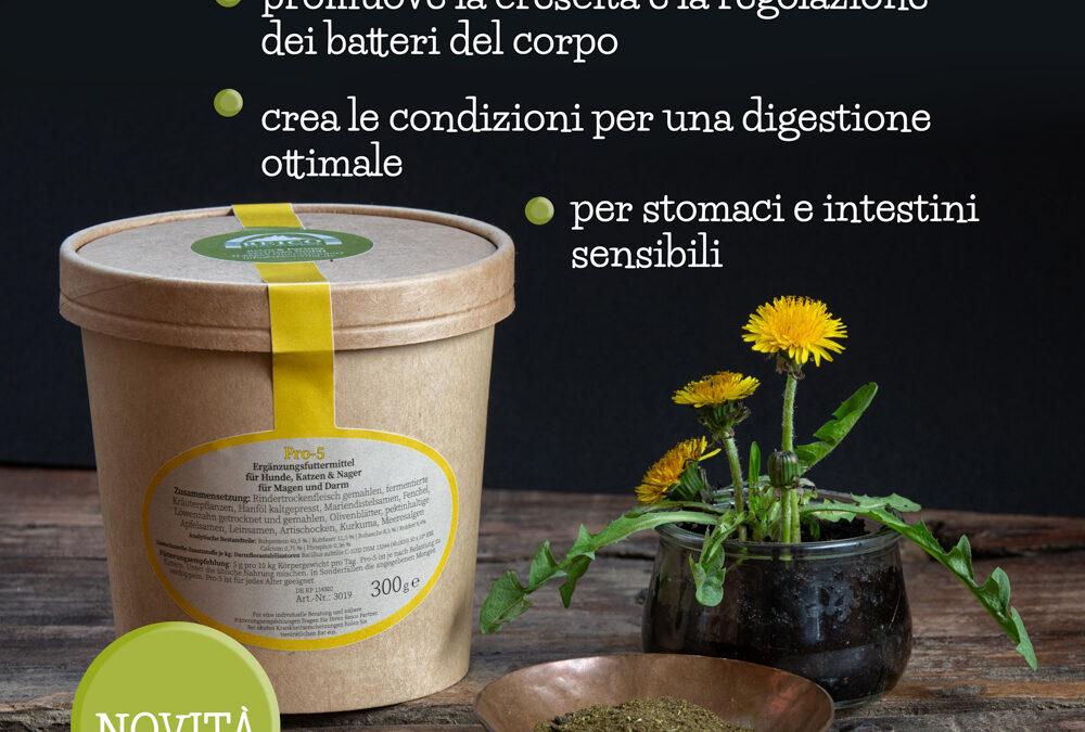 Pro-5: cibo per il microbioma intestinale